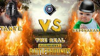 The Real PUBG Tante Galak VS Keponakan