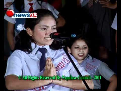 Little Miss World Nepal – 2011 Final  Contestants 1 Organied by Nepalese Council / Nepal
