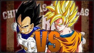 Goku vs Vegeta. Chingonas Batallas de Rap de Titanes | Zoiket
