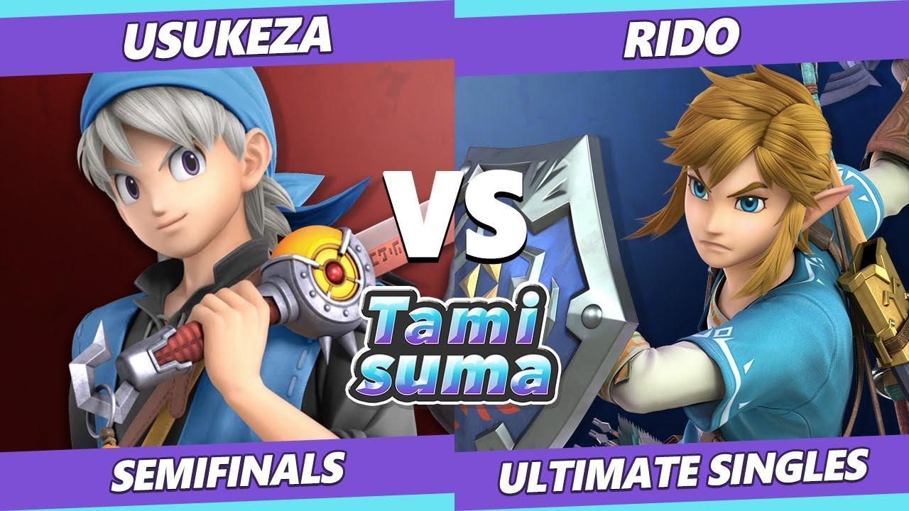VGBootCamp - TAMISUMA 219 Semifinals - Usukeza (Hero) Vs. Rido (Link) SSBU Smash Ultimate