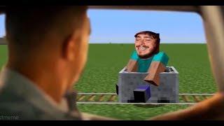 Post Malone - Broken Whiskey Glass (Minecraft Parody)