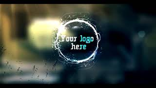 Fire & Water Logo Intro Template Sony Vegas Pro 13 - NO TEXT INTRO