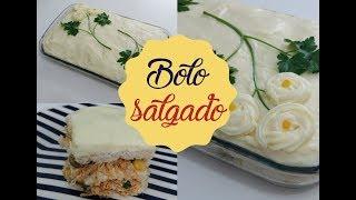 BOLO SALGADO | Bem Vindos à Cozinha | Receita 89