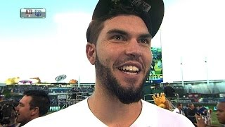 ALCS Gm4: Hosmer on win, Royals heading to WS