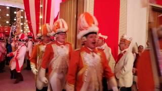 111 Jahre Prinzen-Garde Köln - Einmarsch der Traditionskorps