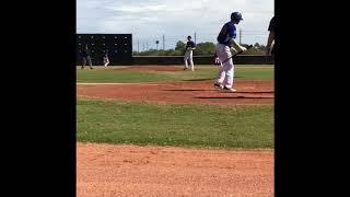 AJ Kostic (2020 Grad) Pitching Vs MLB World Select team 10/12/18 AZ Senior Classic