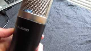 M-Audio Producer USB Mic Review and Test