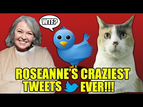 Roseanne Barr's Craziest Tweets Ever!