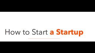 Start A Startup 11/20