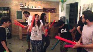 Samba Lelê para Boomwhackers