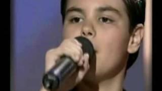 Abraham Mateo y Luis Miguel cantan  LA MEDIA VUELTA   (RANCHERA)