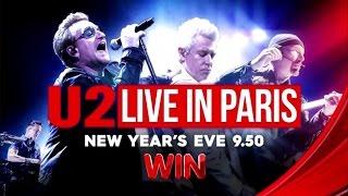WIN Promo: U2 Live in Paris (30 Dec 2015)