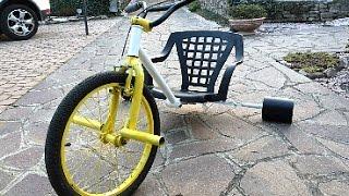 Tutorial Come costruire un Drift trike ( triciclo drift ) - Fai da te - DIY