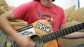 Blink-182 - Give Me One Good Reason (Acoustic Cover).avi