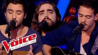 The Voice 2014│Frero Delavega VS Quentin - Il y a (Vanessa Paradis)│Battle