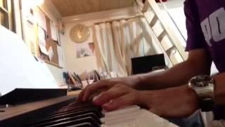 Famille de Goldman au piano