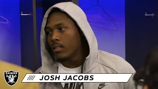 Josh Jacobs on victory vs. Bears: