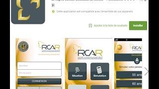RCAR Application mobile smart rcar