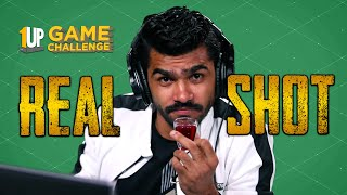 Real Shot Challenge with Shreeman Legend | 1Up Game Challenge | PUBG Mobile