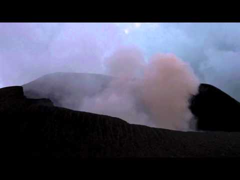 A Small Volcanic Explosion- Telica, Nicaragua