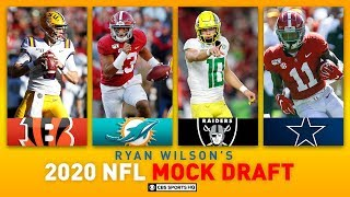 2020 NFL MOCK DRAFT Full First Round Following Tua's Announcement and Bowl Season | CBS Sports HQ