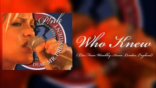 P!nk - Who Knew (Live From Wembley Arena London, England) [HD]
