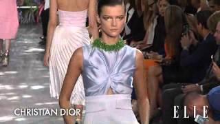Christian Dior Fashion Week primavera verano 2014.