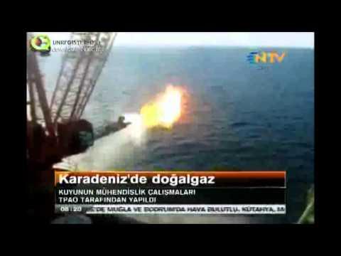 Karadenizde DOĞALGAZ bulundu