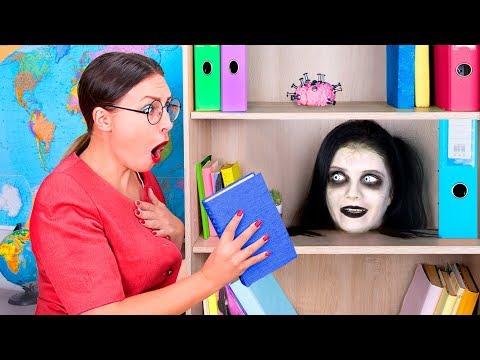 Download Video Zombie At School! / 11 DIY Zombie School Supplies