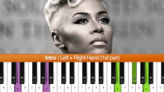 "How To Play ""Read All About It Pt. III"" Intro (Emeli Sande) Piano Tutorial / Chords"