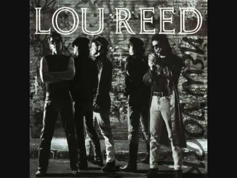 Dirty Blvd de Lou Reed Letra y Video