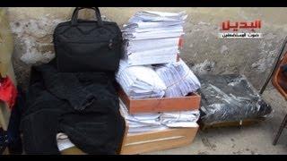 محاولة انقاذ ملفات القضايا بمحكمة جنوب القاهرة