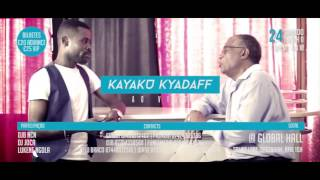 Kyaku Kyadaff Live Show in London Saturday 24th June/17