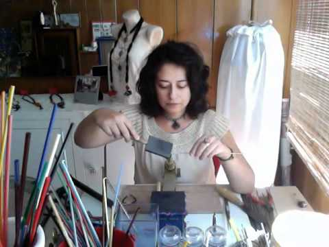 Efruze Cam Tasarım'dan uğur böceği yapımı / How to make a glass Ladybug from Efruze Glass Art