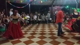Magal e as ciganas - Arraial Flor do Norte  - Fabio, Rosane, Bruna, Rosangela