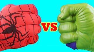 Hulk Family Vs Spider-man Family ! Mega Battle ! Superhero Toys