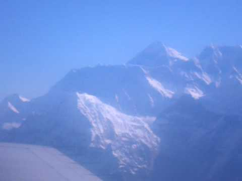 Mount Everest on the starboard side