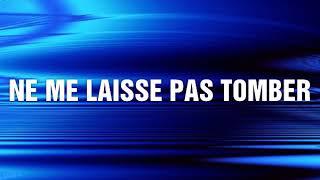 NE ME LAISSE PAS TOMBER Axel Lévi (Lyrics)