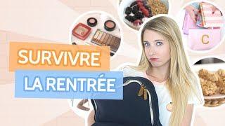 COMMENT SURVIVRE À LA RENTRÉE! | Astuces, idées et +!