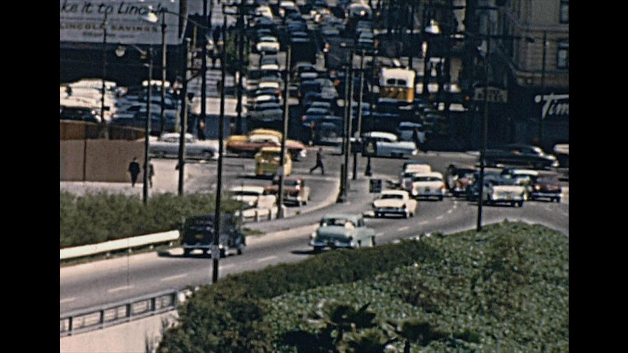 Los Angeles 1962 Archive Footage