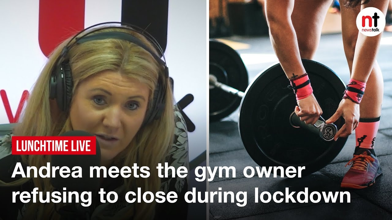 Dublin Gym Owner Defends his Refusal to close During Lockdown