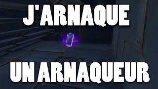 J'ARNAQUE UN ARNAQUEUR - FORTNITE