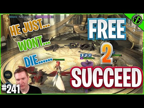 I'm Almost Sick Of Building This Team Lol | Free 2 Succeed - EPISODE 241