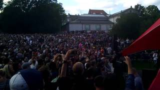 Moby plays Honey live acoustic version at Stella Polaris, Copenhagen