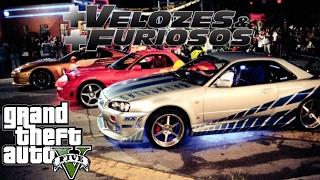 GTA V - Mais Velozes e Mais Furiosos Primeira Corrida (Dublado)