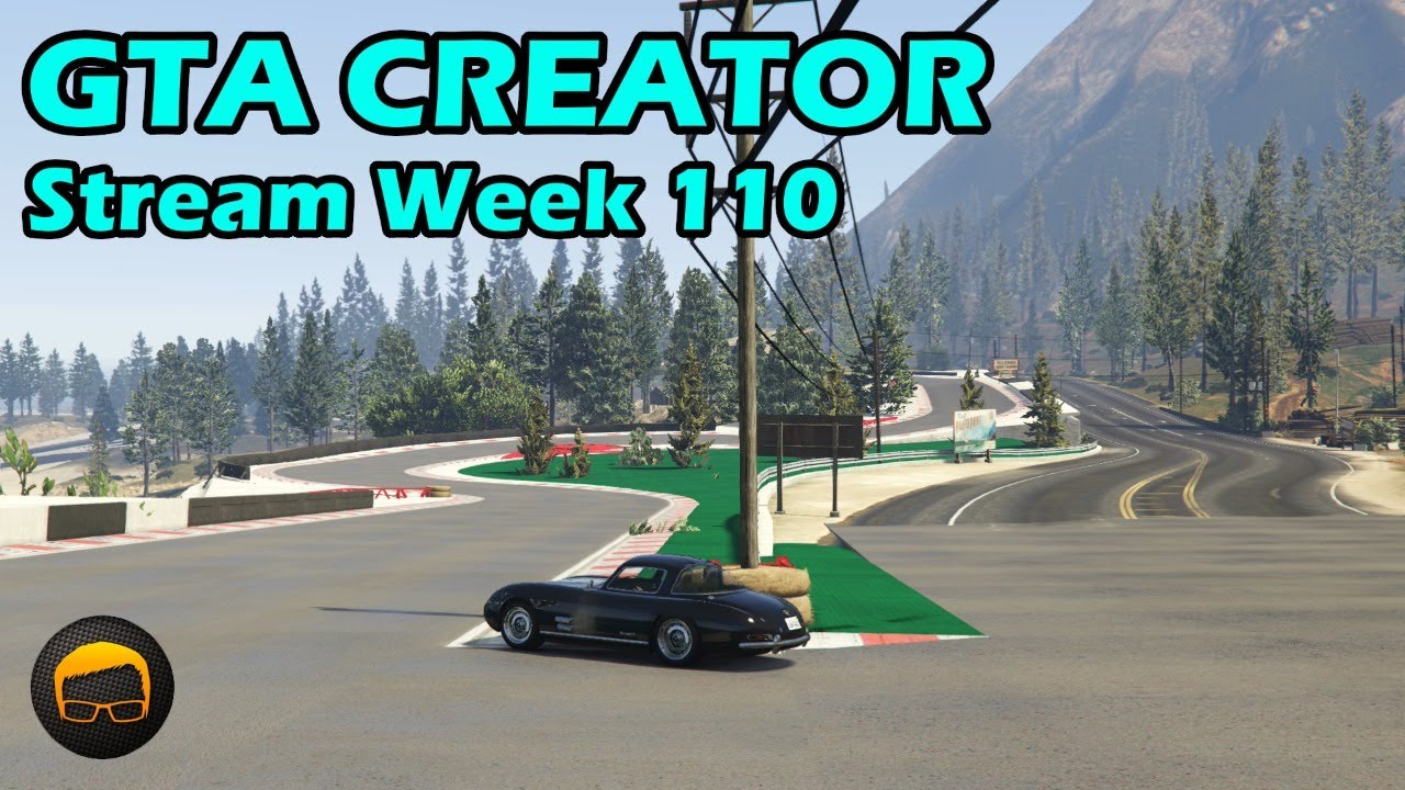 Broughy1322 - GTA Race Track Showcases (Week 110) [PS4] - GTA 5 Content Creator Live Stream