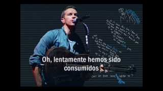 Up in flames - coldplay subtitulada.