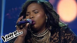 """Thembeka sings """"Halo""""