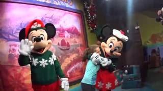 Mickey e Minnie Natal - Animal Kingdon - 6° Dia