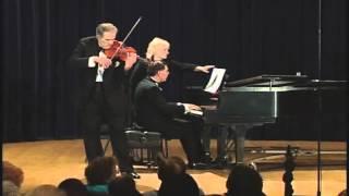 Debussy-Heifetz - Beau Soir played by violinist, Erick Friedman (live performance)